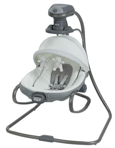 Graco Baby Duet Oasis Swing with Soothe Surround Davis NEW