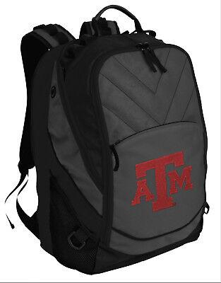 Texas A&M Backpack Laptop Computer Bag BEST TAMU AGGIES Padded Backpacks Texas A&m Aggies Computer