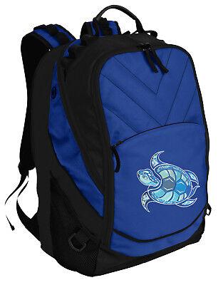 Sea Turtle Backpack BEST Turtle Laptop Computer Bags For SCHOOL or