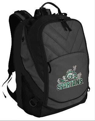 Michigan State Backpack COOL MSU PEACE FROG Laptop Computer