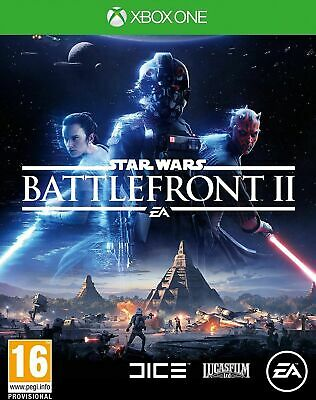 Star wars Battlefront 2 Microsoft Xbox One Game FREE UK 1ST CLASS MAIL