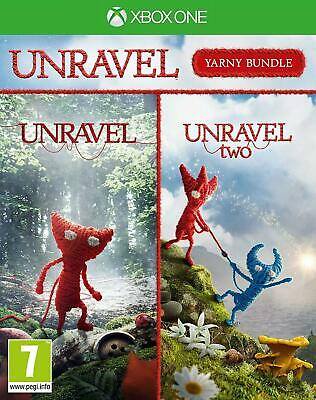 Unravel Yarny Bundle Xbox One Game New Factory Sealed
