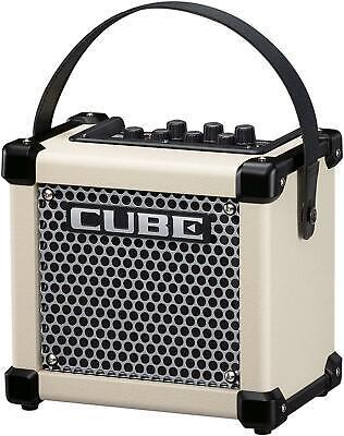 Roland Guitarra Amplificador Micro Cubo Gxw Blanco Nuevo En Caja