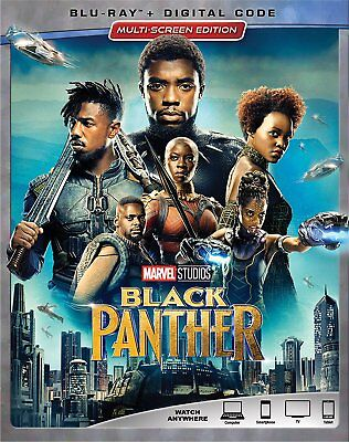 Black Panther Blu Ray Only Disc Please Read