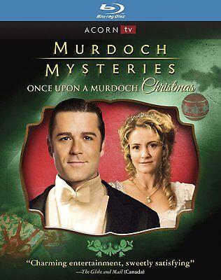 Murdoch Mysteries: Once Upon a Murdoch Christmas [Blu-ray] New DVD! Ships Fast!