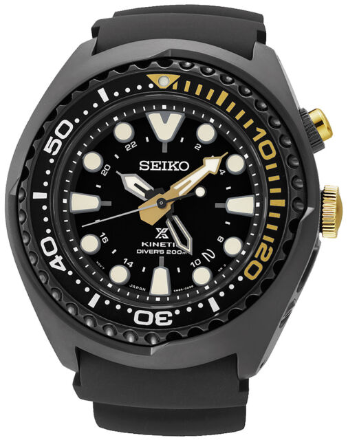 SEIKO Prospex Sea Kinetic GMT Diver watch SUN045P1