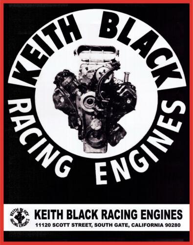 "Keith Black Racing Engines 13oz. Vinyl Banner 30""x38"". Mopar Drag NHRA"