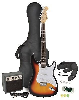CAL63PK electric guitar + amp package - black