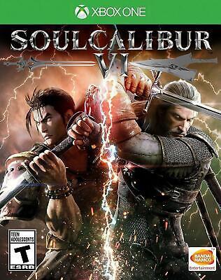 Soul Calibur VI Xbox One Brand New Factory Sealed 6
