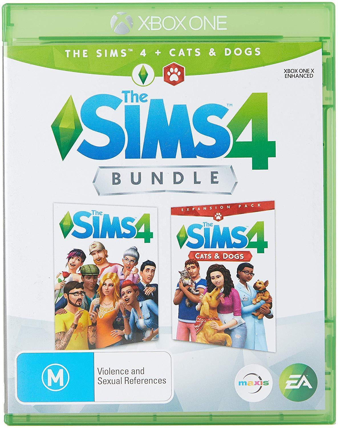 Details about The Sims 4 + Cats & Dogs Bundle Virtual World Sim Game  Microsoft XBOX One XB1