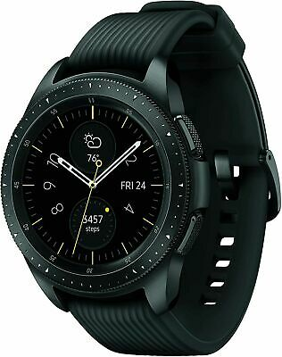 Samsung Galaxy Watch SM-R815U 42mm Midnight Black Smartwatch New + 4G LTE
