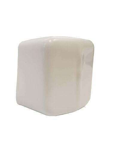 """Unistrut 1-5/8"""" X 1-5/8""""Plastic White End Cap - Lot of 50"""
