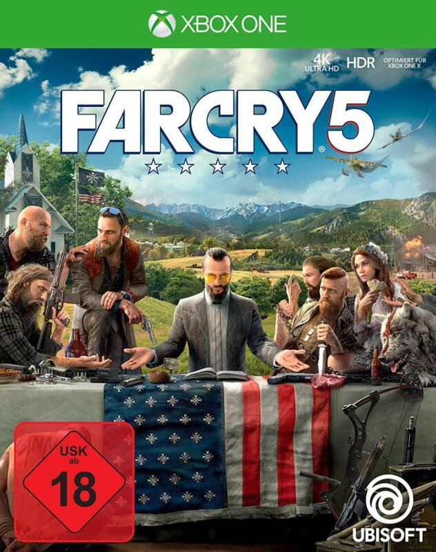 Xbox One Spiel Far Cry 5 deutsche Version NEUWARE