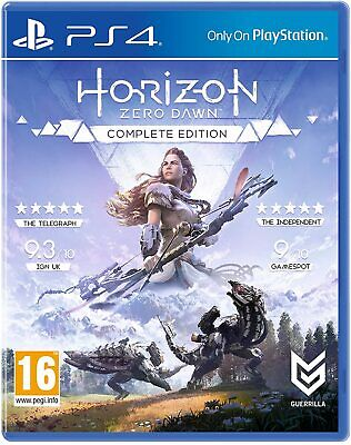 Horizon Zero Dawn Complete Edition PS4 PlayStation 4 NEW & SEALED