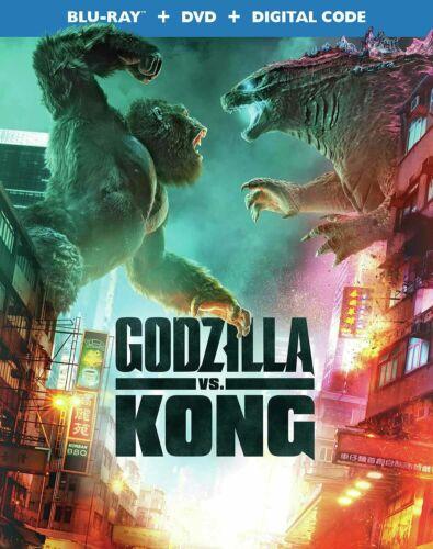 Godzilla vs. Kong (Blu-ray, DVD, w/Slipcover, Digital) NEW Sealed!