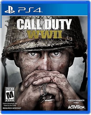 Call Of Duty  Wwii  World War 2   Sony Playstation 4  2017   Ps4