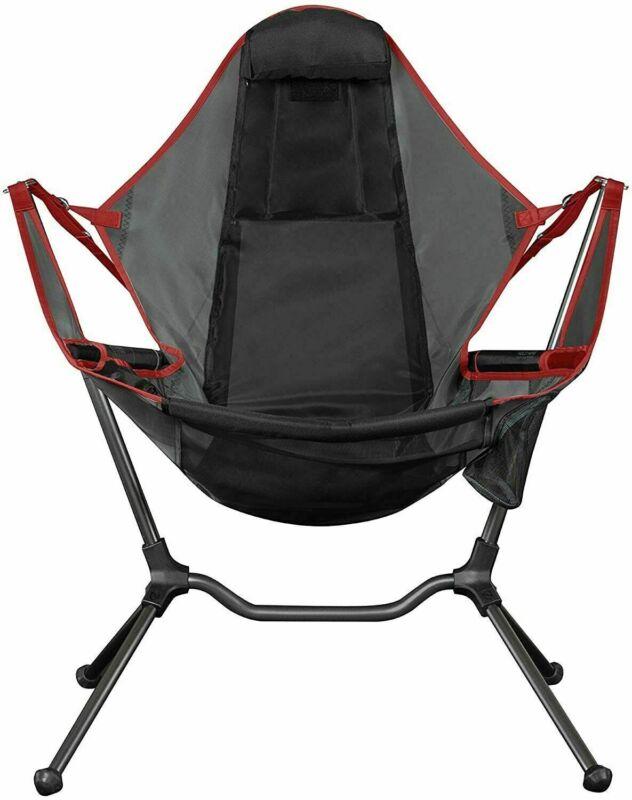 Nemo Stargaze Recliner Luxury Camp Chair Sedona/Smoke Aluminum Alloy Camping New