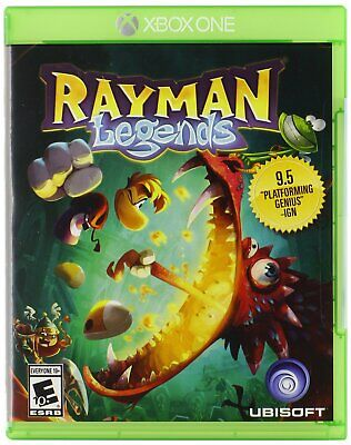 Rayman Legends Xbox One Brand New Factory Sealed