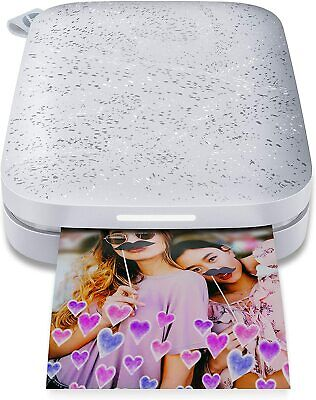 HP Sprocket 2nd Edition Digital Photo Printer - Luna Pearl - Brand New in Box