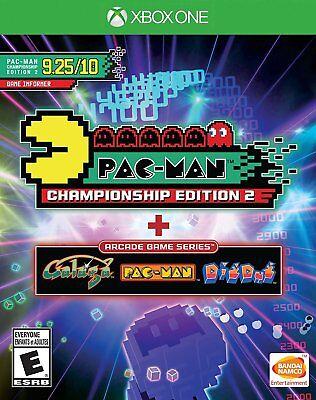 PAC-MAN CHAMPIONSHIP 2 & ARCADE GAME  (XBOX 1, 2016) (0705)    FREE SHIPPING USA
