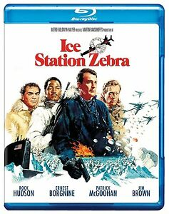 ICE STATION ZEBRA (1968 Rock Hudson)  -  Blu Ray - Sealed Region free