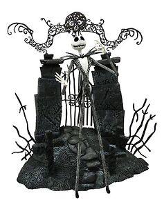 Nightmare-Before-Christmas-Series-1-7-034-Jack-Figure-Diorama-Diamond-Select-NEW
