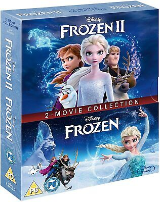 FROZEN 1 & 2 [Blu-ray Box Set] (2013-2019) I & II 2-Movie Disney Collection