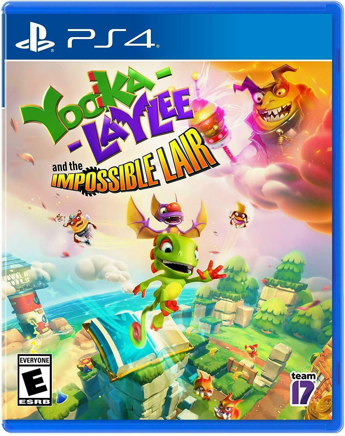 Yooka-Laylee and the Impossible Lair (Playstation 4, PS4)