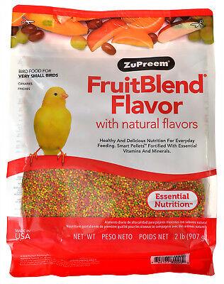 ZuPreem FruitBlend Flavor Bird Food for Very Small Birds