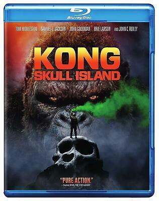 Kong: Skull Island (Blu-ray/DVD) NEW