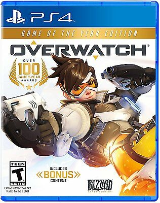 Overwatch Game Of The Year Edition Playstation 4 PS4 Pro Console New Ships Fast