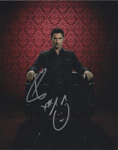 Tom Ellis Lucifer Autographed Signed 8x10 Photo COA 2019-16