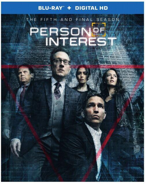 PERSON OF INTEREST: SEASON 5 -  Blu Ray - Region free