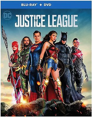 NEW Justice League (Blu-Ray & DVD; 2018) Free Shipping