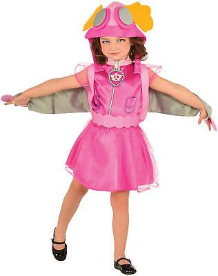 Skye Paw Patrol Helfer auf vier Pfoten Kinder Karneval Fasching Kostüm 92-104
