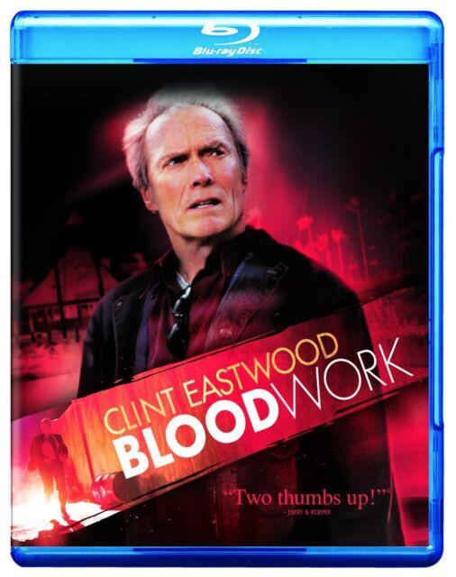 BLOOD WORK (2002 Clint Eastwood)  -  Blu Ray - Sealed Region free