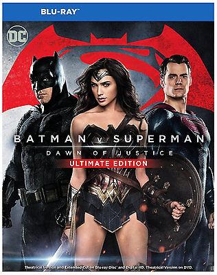 Batman V Superman  Dawn Of Justice   Blu Ray 2016   Ben Affleck