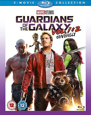 Guardians Of The Galaxy Vol  1   2  Blu Ray Box Set  Complete Collection Marvel