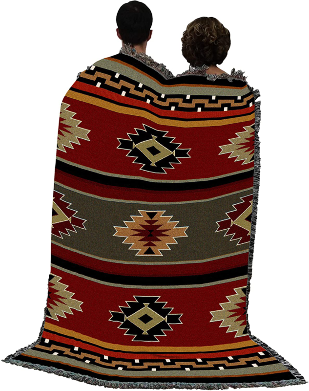 Native Indian Rug Woven Cot