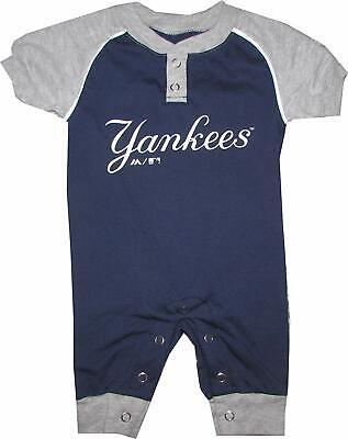 New York Yankees Infant Uniform Coverall - (Yankees Uniform)