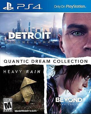 Quantic Dream Collection PS4 Detroit Become Human Heavy Rain Beyond 2 Souls NEW