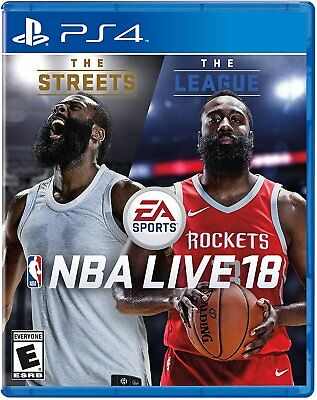 NBA LIVE 18 Basketball Game PS4 Pro Playstation 4 Console Brand New Ships Fast !