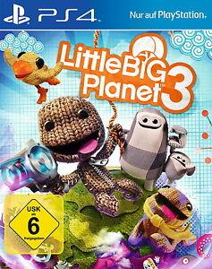 Little Big Planet 3 - Sony PlayStation 4 / PS4 Spiel - Deutschland - Little Big Planet 3 - Sony PlayStation 4 / PS4 Spiel - Deutschland