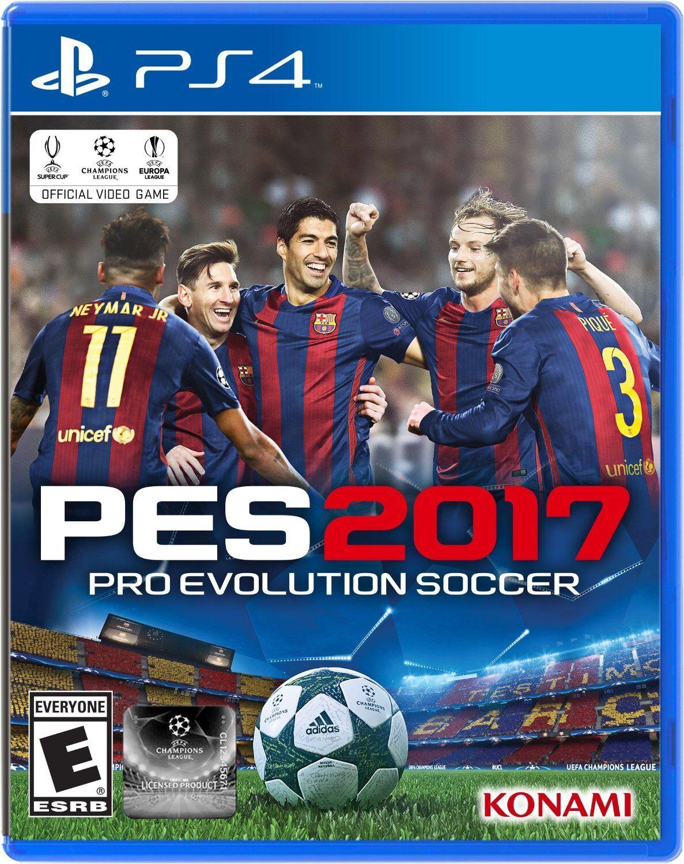 Konami Pro Evolution Soccer 2017 (sony Playstation 4, 201...