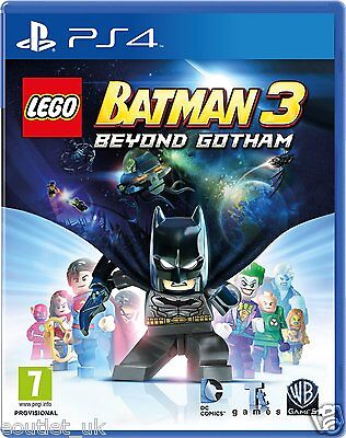 Lego Batman 3 Beyond Gotham PS4 - Enfants Jeu pour sony PLAYSTATION 4 Neuf for sale  Shipping to Nigeria