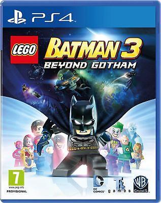 Lego Batman 3 Beyond Gotham (PS4) Brand New & Sealed - UK PAL