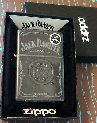 ZIPPO 29150 Jack Daniels Gray Dusk NEW Windproof Lighter Free Shipping