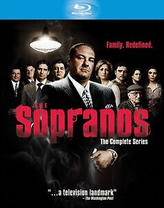 The sopranos complete series blu ray