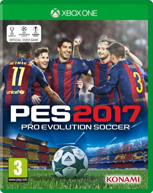 PES 2017 Pro Evo 2017 for Xbox One BRAND NEW & SEALED