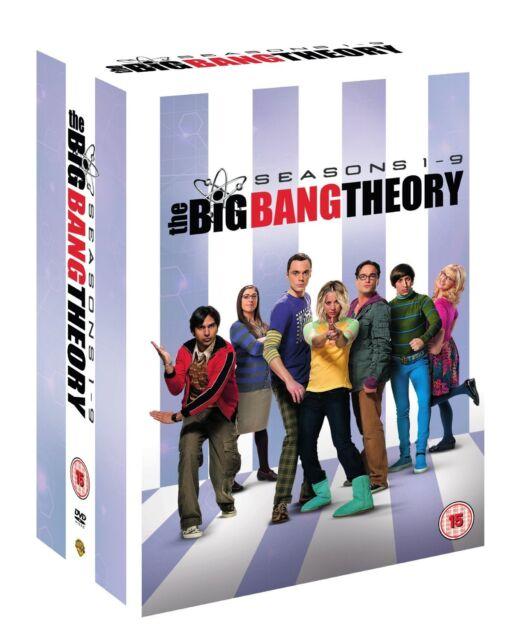 """THE BIG BANG THEORY Complete Season 1+2+3+4+5+6+7+8+9 DVD Box Set R4 """"on sale"""""""
